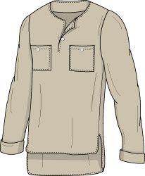 Men's Blanket Tunic Sewing Pattern - Laura Marsh Sewing Patterns