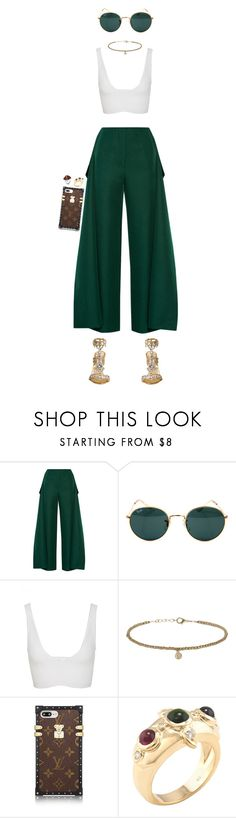 """""""Bon Voyage"""" by oh-aurora ❤ liked on Polyvore featuring Marchesa, Marni, Ray-Ban, Cushnie Et Ochs, Topshop and Mulberry"""