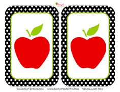 back to school printables (free)