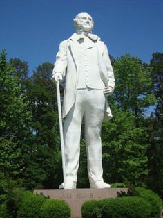 67 foot statue of Sam Houston on I-45 at Huntsville, Texas