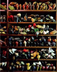 Shoe cluster.