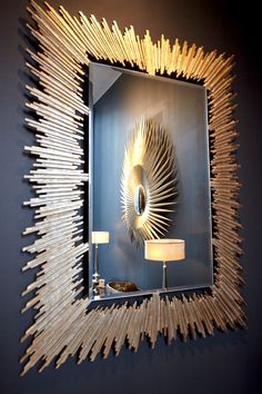 Spiky, modular, #classic. Discover #mirrors in all shapes and forms in one place! The world's most sought after #decorative #mirror frames: www.christopherguy.com   Order now at #ChristopherGuy UK 020 3397 2410 uk@christopherguy.com  #interior #design #accessories #furniture #deco #artdeco #furnishing #luxury #inspiration #frame #home #decoration #wallart #designer