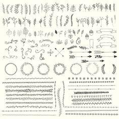 自然の装飾品のデザイン 無料ベクター