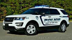 Town of Fort Mill (S.C.) Police # 94 2016 Ford Interceptor Utility