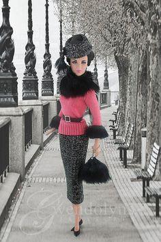 Barbies Tweed 'n' Fur by Gwendolyns Treasures