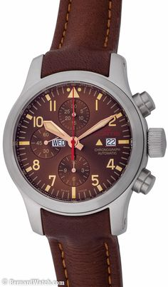 Fortis - Aeromaster Dawn : 656.10.18 L.18 : Bernard Watch