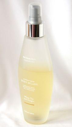 White Tea and Ginger Bath & Body Works Purely Silk Body Splash Spray vtg 4.75 oz #BathBodyWorks