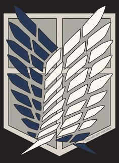 attack on titan scout regiment symbol - Google Search