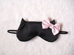 Big Bow Cat Sleep Eye Mask. $22.00, via Etsy.