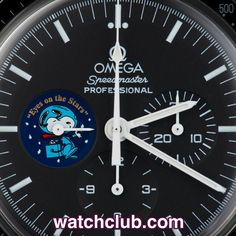"""Omega Speedmaster Professional """"Snoopy"""" - Limited Edition REF: 357851 