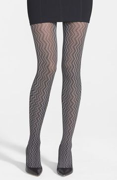 Zigzag tights