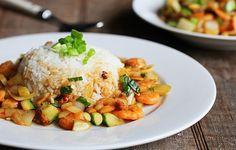 Công thức làm món cơm tôm sốt teriyaki ngon tại nhà