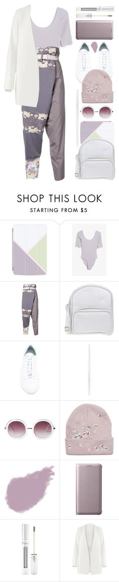 """""""lavender / white"""" by foundlostme ❤ liked on Polyvore featuring Casetify, Monki, THEATRE PRODUCTS, Jil Sander Navy, The Last conspiracy, Stila, Bobbi Brown Cosmetics, Samsung, Forever 21 and Non"""