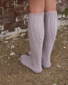 Ravelry: Lissajous Socks pattern by Cookie A