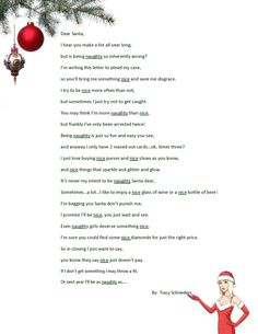 I wrote this. It's meant to be used as a gift passing game. (Naughty=Right, Nice=Left) Xmas Party Games, Funny Party Games, Christmas Games, Christmas Humor, Holiday Parties, Christmas Holidays, Christmas Crafts, Christmas Things, Christmas Ideas