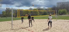 All over the world, playing beach volleyball has been massively restricted. Due to the coronavirus outbreak, beaches have been closed, public courts are inaccessible. Beach Volleyball Net, All Over The World, Beaches, Spain, Public, France, Sports, Corona, Hs Sports