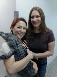 Me with Ashley from Gator Boys!