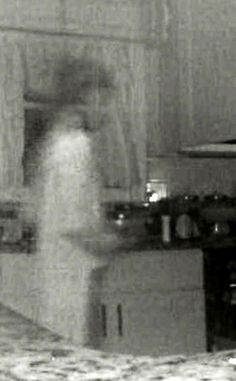 Mum spots 'dead son's ghost' on kitchen CCTV after figure triggers camera sensor - Mirror Online