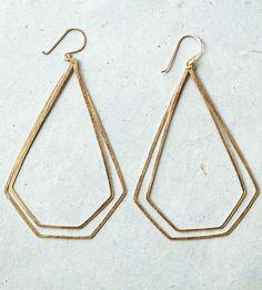 Double Pagoda Earrings by Elaine B Jewelry