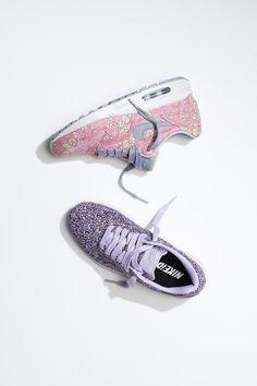 Floral sneaks aka Liberty-print Nike Air Max 1s