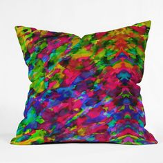 Amy Sia Pink Opal Throw Pillow $69.00