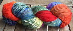 Purple Rainbow Yarns - Hand Dyed Yarns: New custom order, Merino yarns Rainbow and Cherry ...