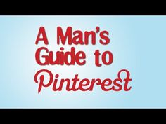 Why are men afraid of Pinterest?
