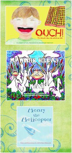 Children's books by Sheli Ellsworth. Available on amazon.