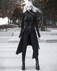 Gothic fashion 443534263302983629 - Source by Gothic Outfits, Edgy Outfits, Fashion Outfits, Vampire Outfits, Dark Fashion, Gothic Fashion, Mode Lolita, Hot Goth Girls, Star Wars Outfits