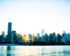 New York City Skyline by ISeeUSee on Etsy, $20.00