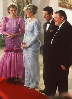Princesse Diana & Prince Charles - le 05 Novembre 1987 Munich GERMANY _ Suite