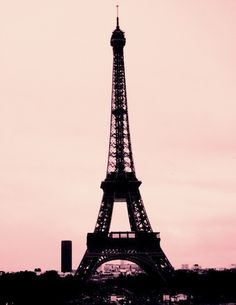 Silence and Noise- Paris Eiffel Tower Photography Print. by Leigh Viner via Etsy.