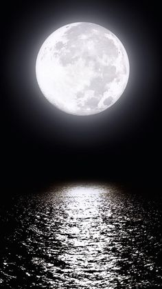 The lovely moon has seen many billions of years pass by on earth, and keeps all secrets.