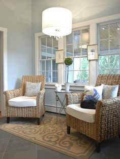 chairs fun for a family room..casual and easy