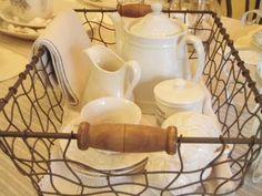 . . . Cabin & Cottage: Setting A Casual Farmhouse Table