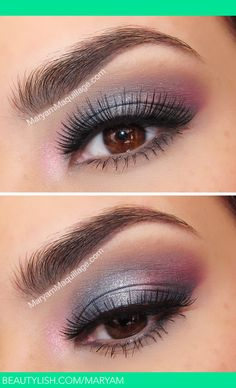 Northern Lights Smokey Eye | Maryam M.s (Maryam) Photo | Beautylish