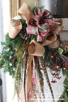 Christmas Home Tour 2013-from The Everyday Home
