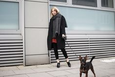 Isabel Marant, Skirt, Red, Coat, H&M, Layering, Knit, Fringes, Acne, Zara, Stella McCartney, Black, Look, lotd, ootd, Outfit, Streetstyle, Inspiration, Winter, Fashion, Blog, stryleTZ