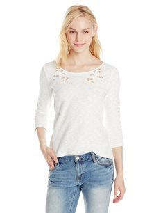 Jessica Simpson Women's Jena Pullover with 3/4 Sleeve (size S)