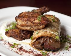 Signature Dish: Saffron's chef Sameh Wadi