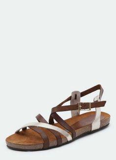 Womens flat sandals au