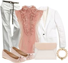 """Blushing"" by msdeeds ❤ liked on Polyvore"