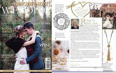 Our Pom Pom Tassel Necklace in Natural featured in Your Hampshire & Dorset Wedding January 2018 January 2018, Hampshire, Annie, Sterling Silver Jewelry, Tassel Necklace, Natural, Wedding, Beauty, Valentines Day Weddings