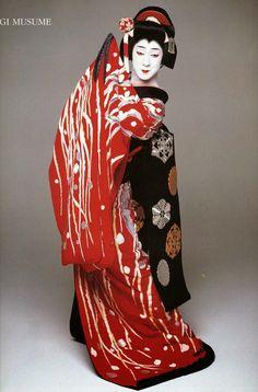 Bando Tamasaburo V in 'Sagi Musume' (The Heron Maiden).