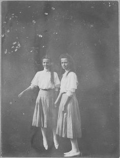 Grand Duchess Tatiana Romanov and Grand Duchess Olga Romanov