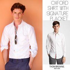 Male Fashion Trends: Eddie Redmayne y su Oxford Shirt with Signature Placket de…