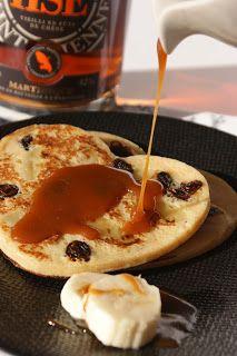 Afternoon Tea: Chandeleur # Pancakes banane - rhum raisins