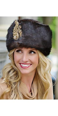 Russian-Style Faux Fur Hat | Fabulous-Furs