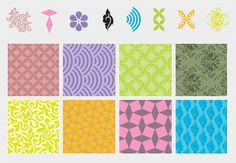 Pattern Elements & Backgrounds (Free)   Free Vector Archive