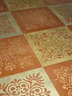 Modello Designs offers a variety of decorative patterns for concrete floors.